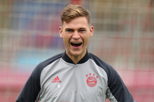 Joshua Kimmick is close to agreeing a new contract with Bayern Munich